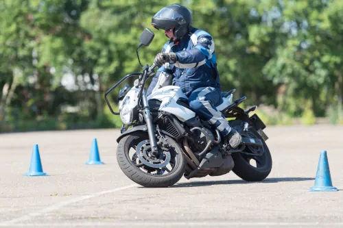 Motorrijbewijspoint Tilburg motor rijtest